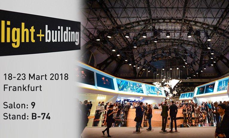 ENTES auf der Light + Building Messe Deutschland